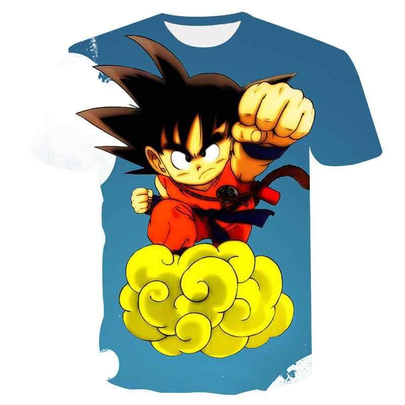 2019 ドラゴンボールtシャツ男性の夏のトップドラゴンボールzスーパー孫悟空コスプレおかしいtシャツアニメベジータドラゴンボールtシャツトップ