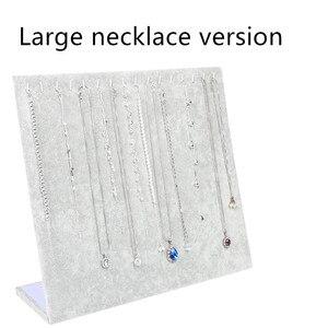 Image 5 - Soporte de exhibición para colgante de collar, soporte para almacenamiento organizador de joyas para mujer, estuche para pulsera