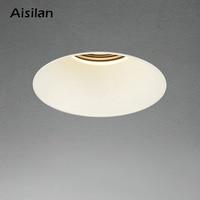 Aisilan Moderne LED verzonken downlight frameloze ingebouwde spot lamp Minimalistische Handig installatie voor woonkamer slaapkamer-in LED-downlighters van Licht & verlichting op
