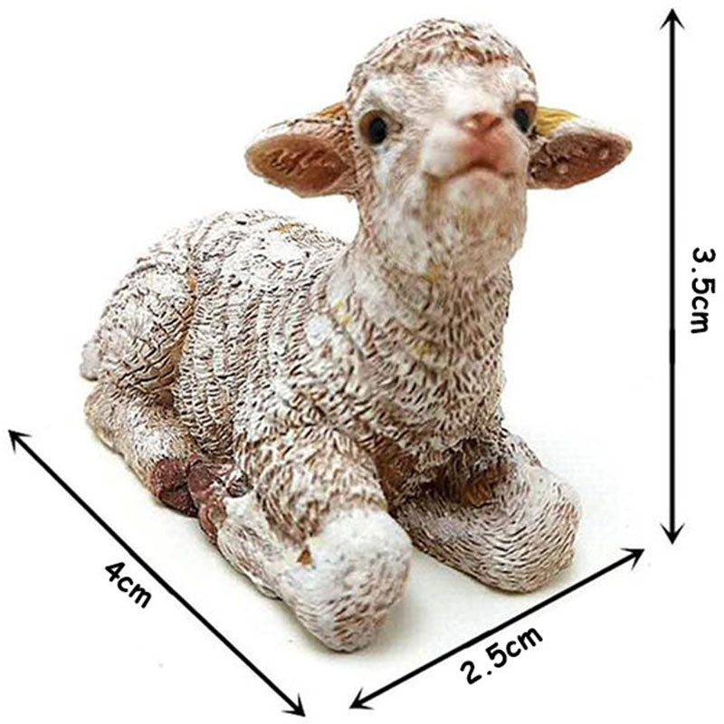 3D Sheep Silicone Candle Mold Goat Mold Polymer Clay Molds DIY Chocolate Candy Fondant Gumpaste Mould Cake Decorating Tools