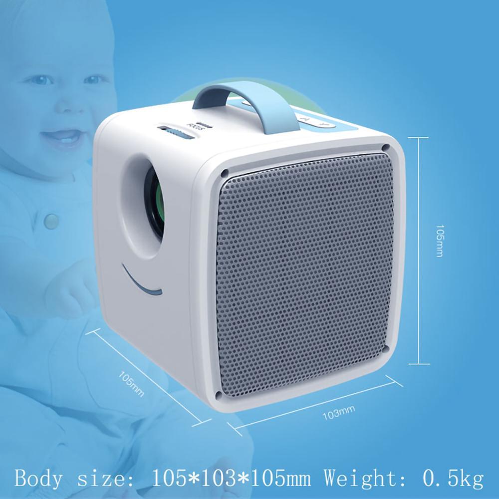 Lejiada q2 lcd mini projetor portátil suporte 1080p completo hd hdmi usb vga para crianças estudo presente de natal-2