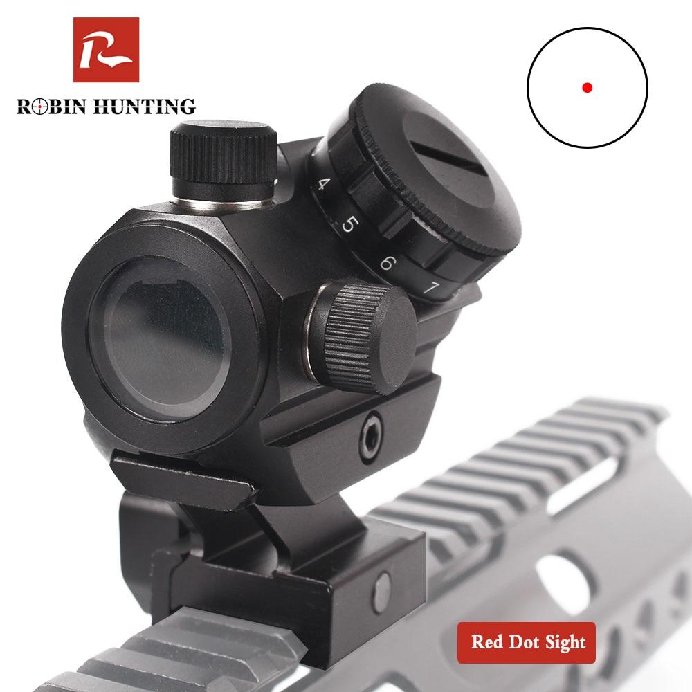 Robin hunting Micro kolimator red dot luneta luneta snajperska holograficzne zabytki AK47 karabin pneumatyczny zabytki lunety do strzelb