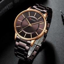 Curren marca superior relógio de luxo novo estilo esportivo masculino warterproof relógio masculino 8385 negócios quartzo relógio de pulso relogio masculino