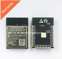50PCS ESP32 WROOM 32 WiFi + 블루투스 4.2 듀얼 코어 CPU MCU 저전력 블루투스 ESP32 칩 32Mbit 플래시 표준 기반