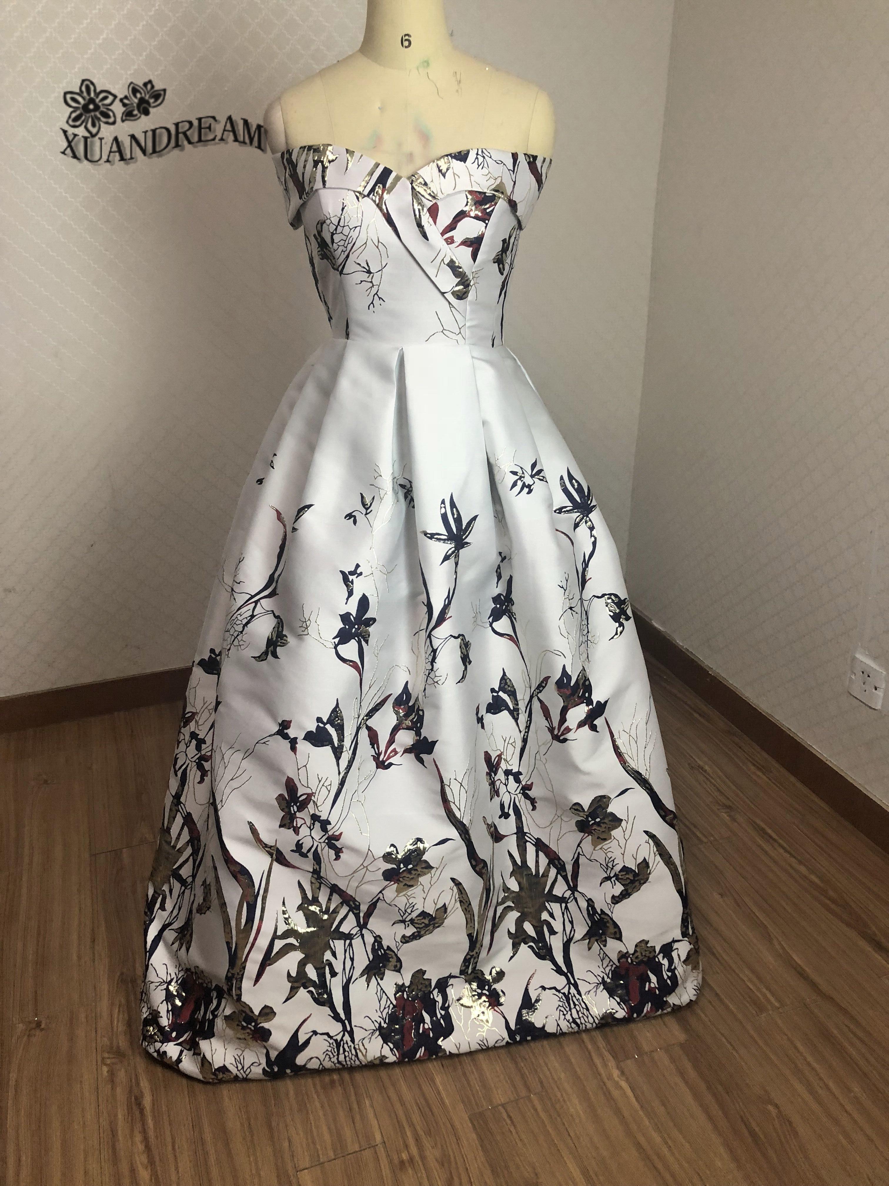 2019 Specail Occasion Print Robe De Soiree Courte Vestidos Ever Pretty Vestido De Gala Longo Former Long Prom Dresses Xd 64 Prom Dresses Aliexpress