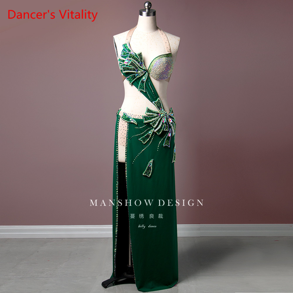 Belly Dance Costume Women New Suit Sexy Bag Hip Dress Costume High-end Professional Custom Made