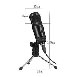 Image 5 - Microphone à condensateur Microphone USB pour ordinateur portable Mac enregistrement en continu