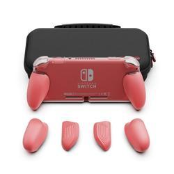 Schädel & Co. GripCase Lite mit Austauschbare Griffe MaxCarry Fall Lite Schutzhülle für Nintend Nintendo Schalter Lite