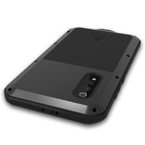 Image 2 - Love Mei For Xiaomi Mi 9 Case Shockproof Silicone  Metal Armor Protective Case For Xiaomi Mi8 M8 Mi9 Mi6 Cover Funda  Glass Film