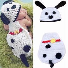 Реквизит для фотосъемки новорожденных вязаная детская одежда