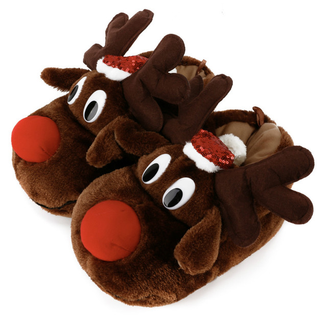 Reindeer Slippers 1