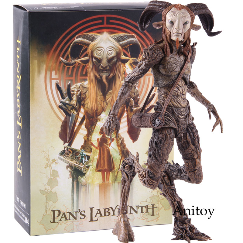 NECA Pans Labyrinth El Laberinto Del Fauno Faun PVC NECA Action Figure Collectible Model Toy