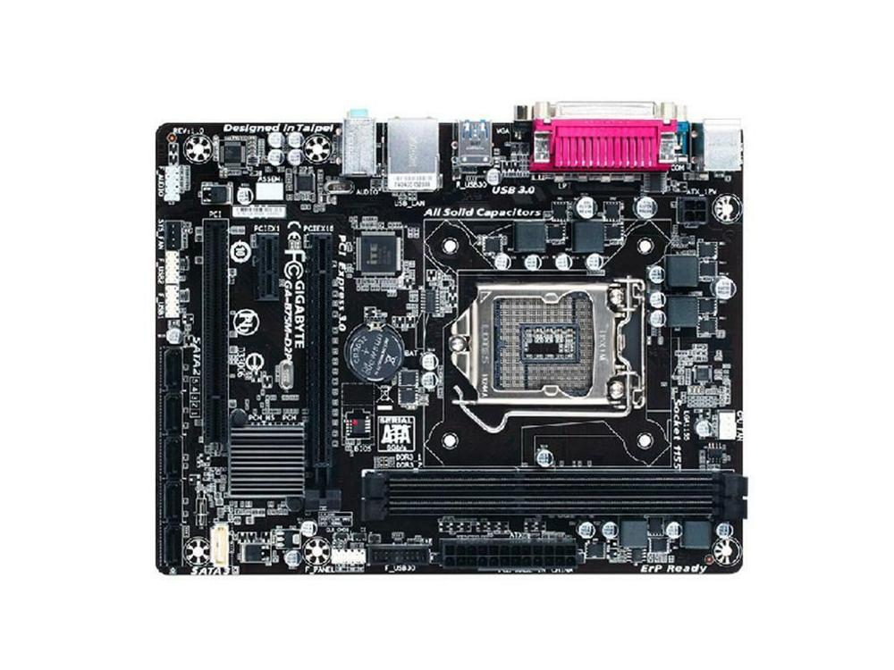 For Gigabyte GA-B75M-D2P <font><b>LGA1155</b></font> Desktop Micro ATX <font><b>B75</b></font> DDR3 <font><b>Motherboard</b></font> tested image