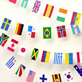 CXLIDY 14*21 см 32 страны флаги баннер ручной работы для офиса бара дома гирлянда украшения Национальный вымелок