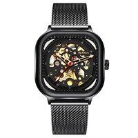 BIDEN mody oglądać najlepsze marki luksusowe mężczyzna zegarka stylowe Casual Sport wodoodporny zegar męskie zegarki na rękę nowy 2019 w Zegarki mechaniczne od Zegarki na