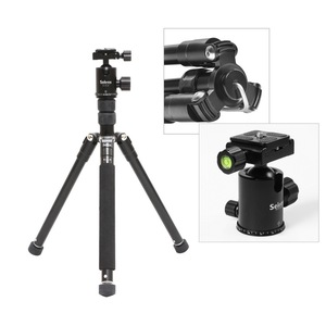 "Image 2 - Selens 150cm/62 ""שחור מקצועי חצובה צילום חדרגל עבור DSLR מצלמה נייד קל משקל נסיעות Tripode Stand"