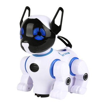 New Childrens Educational Rc Robot Dog  Remote Control Universal Electronic Animal Pets Walking Music Dance Kids Toy Gift