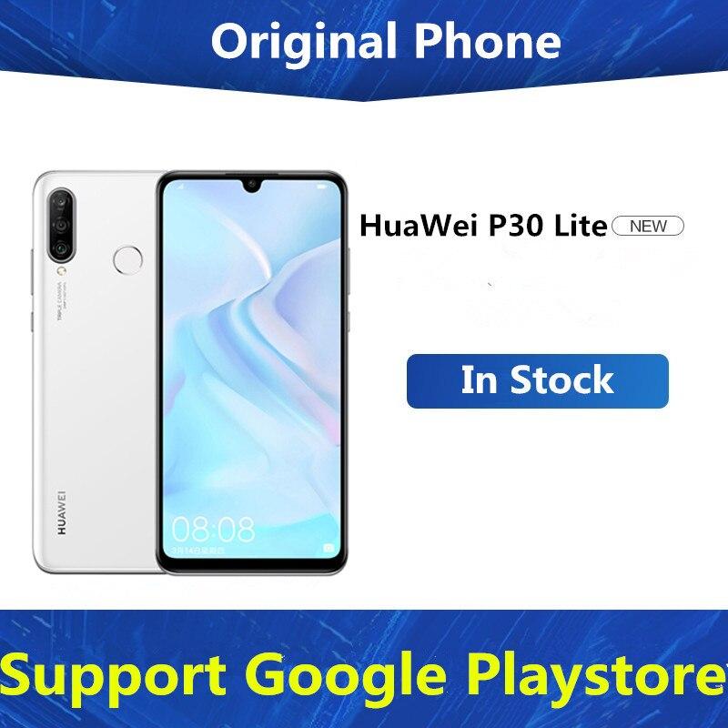 Международная версия HuaWei P30 Lite 4 аппарат не привязан к оператору сотовой связи мобильный телефон 6,15