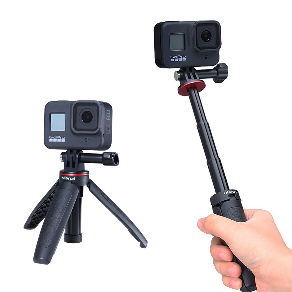 Ulanzi Universal Mini Action Camera Extend Tripod Mini Travel Vlog Tripod For Gopro 8 7 6 5 Hero Black EKEN Sjam