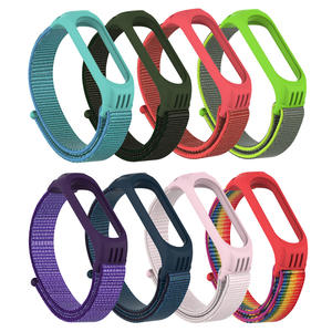 Bracelet Xiaomi Wristband Watch-Straps Nylon Breathable 4-Sport for 4/3-strap/Miband/..