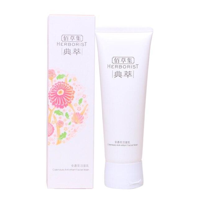 Counter Genuine Herborist Marigold Facial Cleanser Amino Acid Facial Cleanser Gentle Cleansing Soothing Sensitive 120G CN 1