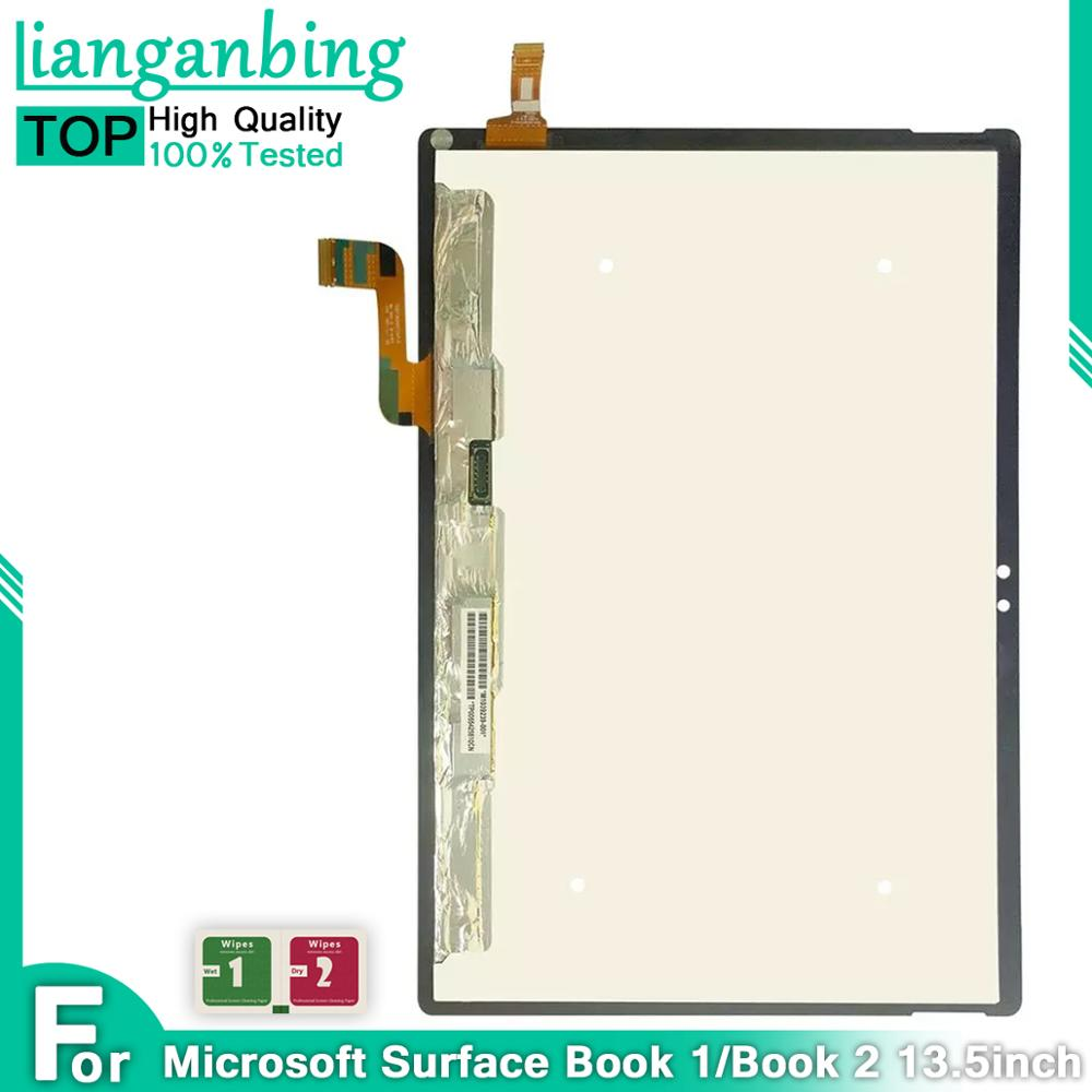 LCD para Microsoft superficie de portátil 1 libro 2 1703, 1704, 1705, 1706 pantalla LCD de montaje de digitalizador con pantalla táctil para superficie de portátil 1