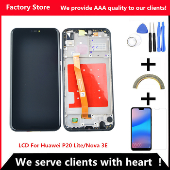 For Huawei P20 Lite ANE-LX1 ANE-LX3 LCD Display Touch Screen Digitizer Assembly Replacement For P20Lite Nova 3E 5.84