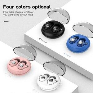 Bluetooth наушники мини беспроводные наушники TWS Bass HiFi стерео игровые гарнитуры спортивные водонепроницаемые наушники с микрофоном