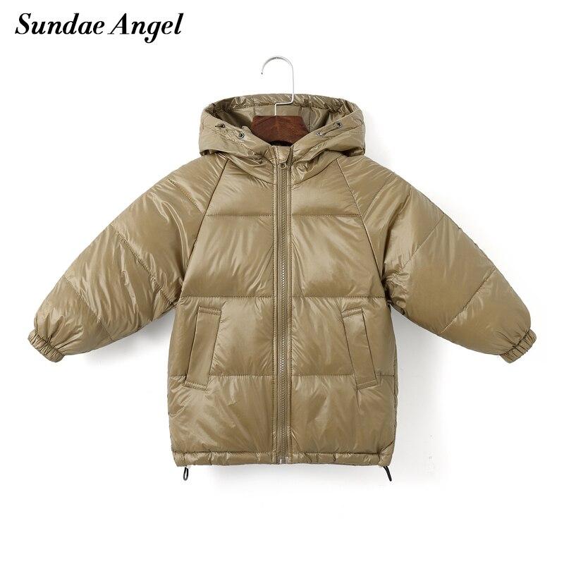 Белый ангел, детское пальто, зима, для девочек, 80%, белый утиный пух, детский однотонный пуховик с капюшоном для мальчиков, теплая детская верхняя одежда, одежда|Пуховики и парки|   | АлиЭкспресс