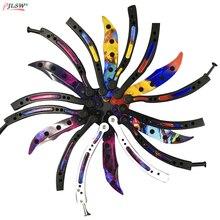 Butterfly in knife balisong Karambit folding knife blade man