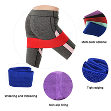 New Yoga Resistance Bands Booty Band Hip Circle Loop Workout Exercise for Legs Thigh Butt Squat Non-slip