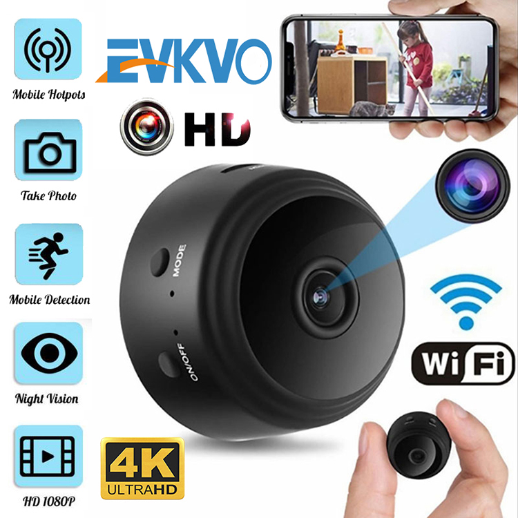 EVKVO HD 1080P Micro Mini Camera Sensor Night Vision Camcorder Motion DVR Micro Camera Sport DV Video Small Camera Night Vision