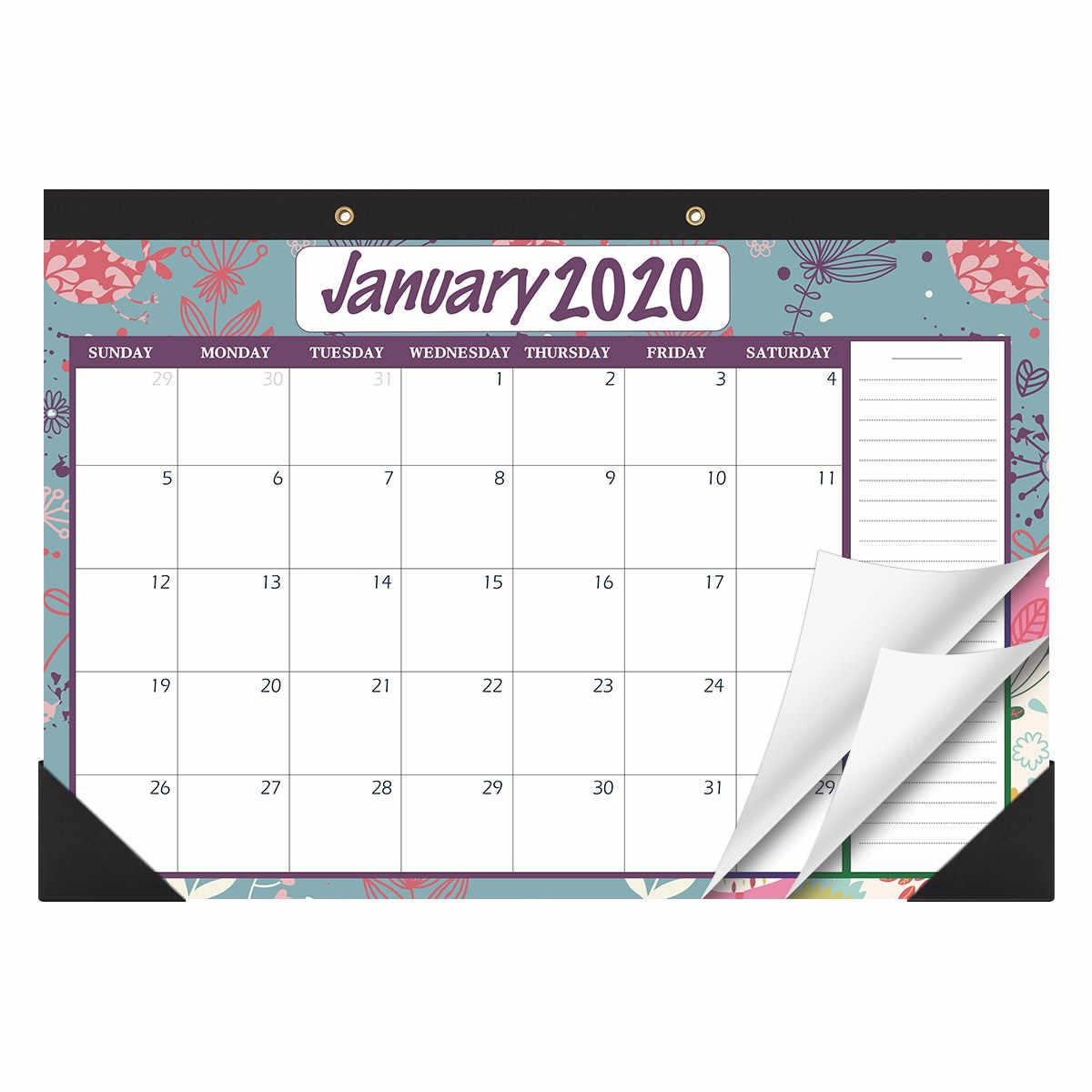 STOBOK Gennaio 2020 a Dicembre 2021 Scrivania Calendari Calendario