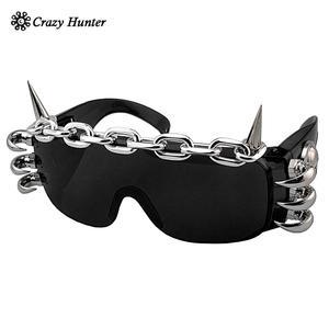Image 1 - punk rock studded cosply dancing glasses cool men/lady sunglasses