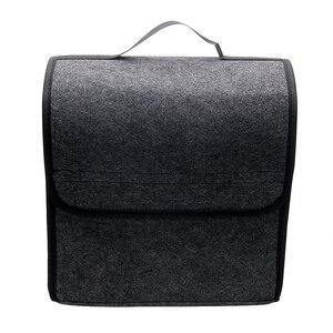 Image 1 - Auto Opbergtas Kofferbak Organizer Box Vouwen Auto Rear Opslag Pouch Auto Styling Accessoires Opbergen Opruimen Seat Back Bag