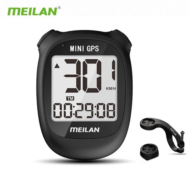 meilan M3 Bike GPS Computer Wireless LCD Display Speedometer Cycling Computer  Odometer Waterproof USB rechargeable