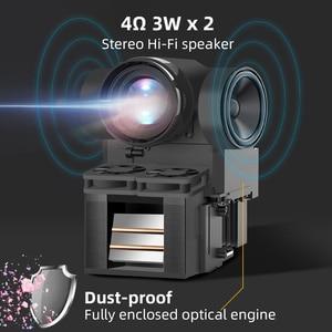 Image 2 - BYINTEK C720 Tragbare Full HD 1080P 3D Video Heimkino FÜHRTE Mini Projektor Projetor Beamer (Optional Android OS/batterie)