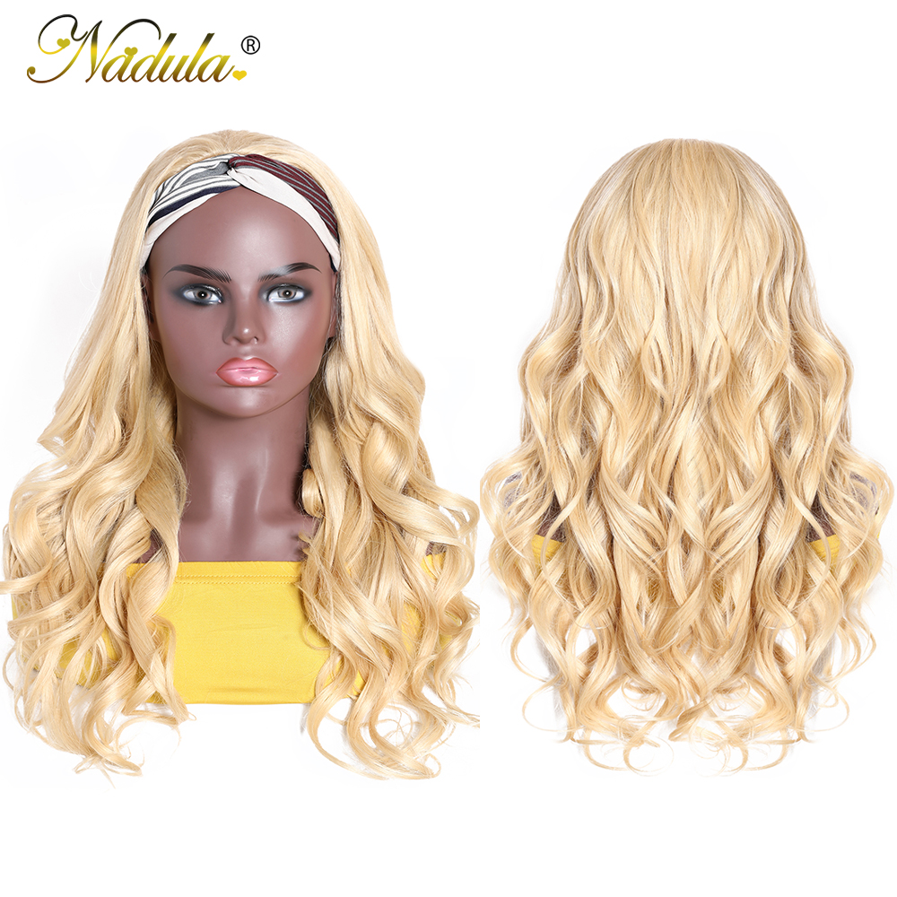 Nadula Headband Wig  Body Wave Honey Blonde  Headband Wig  Natural Wave Pre Plucked  6