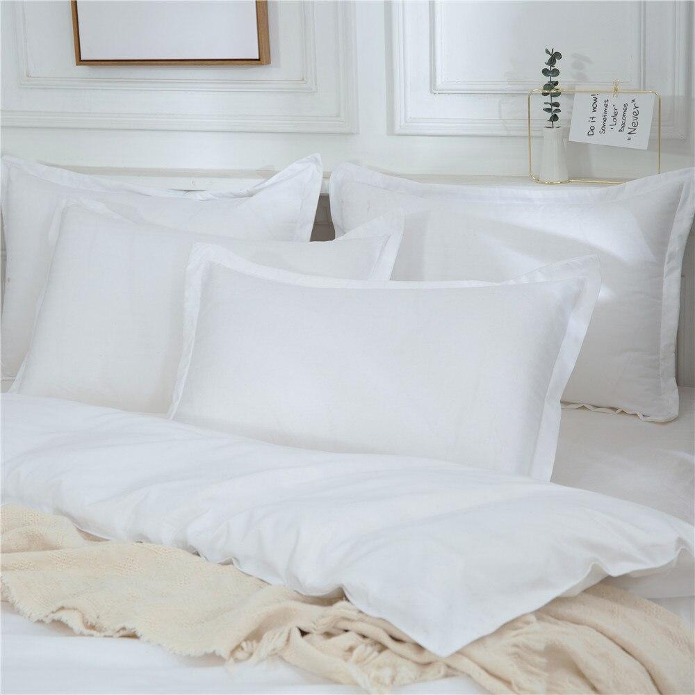 sólida alta qualidade consolador capa edredão conjunto cama