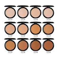 Menow Compact Mattifying Powder Oil Control Matte Makeup Setting Pressed Powder Pores Invisible Make Up Natural Finish