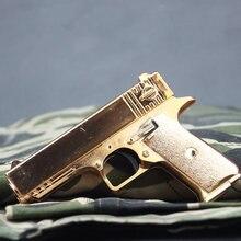 Beretta Colt-Mini pistola de aleación Glock, modelo de oro 1:6, modelo de pistola para adultos, colección de regalos para niños