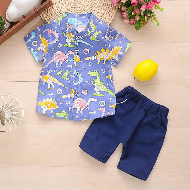 BibiCola letnie dzieci chłopcy odzież zestaw dzieci chłopcy Pilot ubrania dla dzieci chłopców topy T-shirt + spodenki sportowe garnitur letnie ubrania chłopców