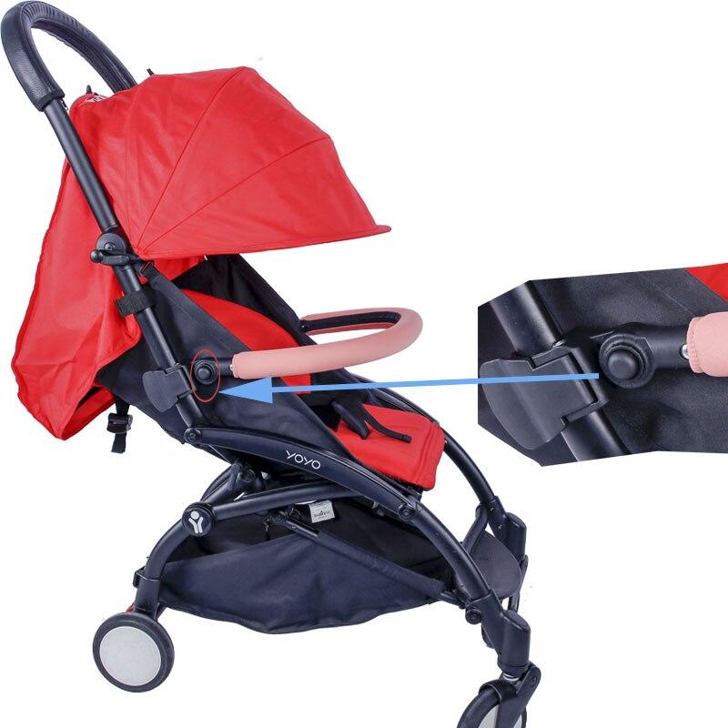 2019 Newest Armrest Adjustable Bumper Bar Baby Stroller Accessories Fit Yoyo+/Yoya/Yuyu Babies Parms Safety Handrail Pushchair