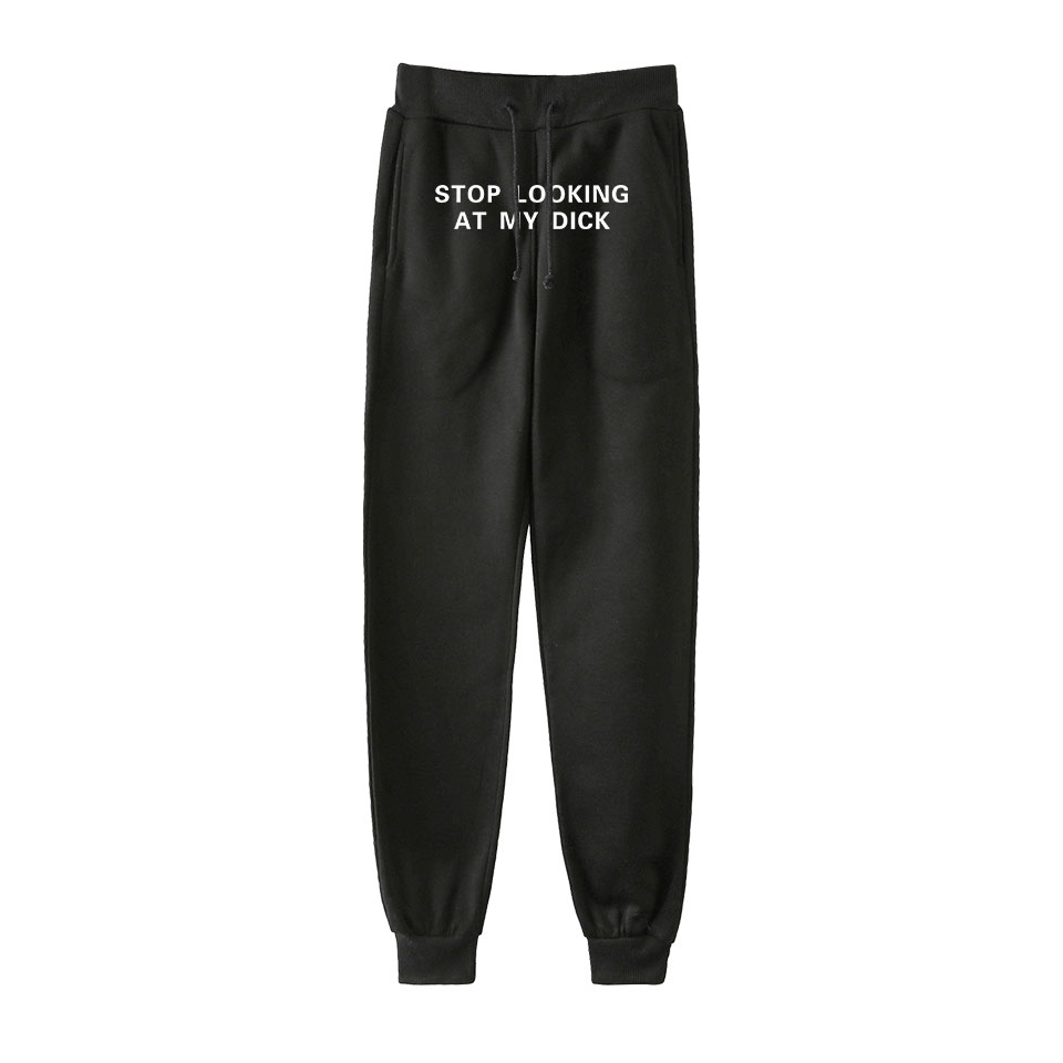 Luckyfridayf Pants Women Funny Letter Print Cotton Joggers Women Men High Waist Sweatpants Hip Hop Loose Trousers For Women 2020