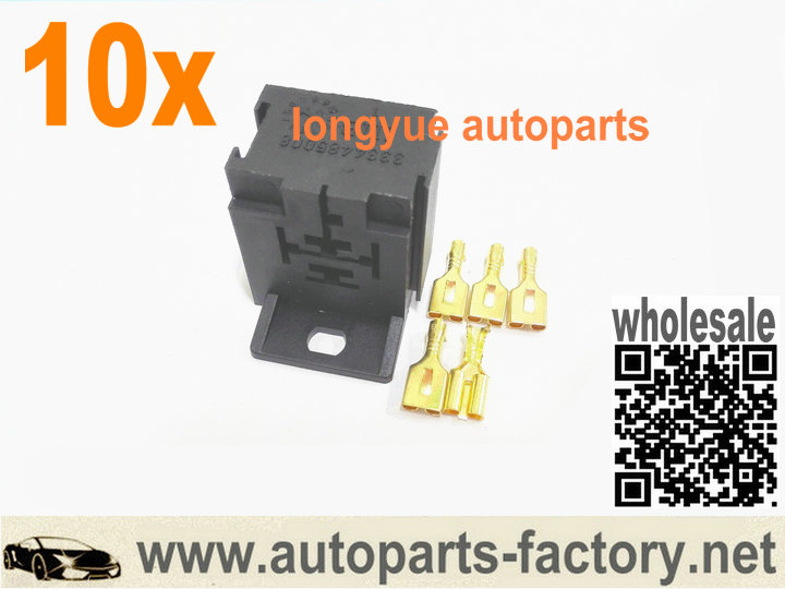 Longyue 10pcs 5 Way Relay Repair Connector Heater Switch Socket For  Bosch Style A/C HVAC