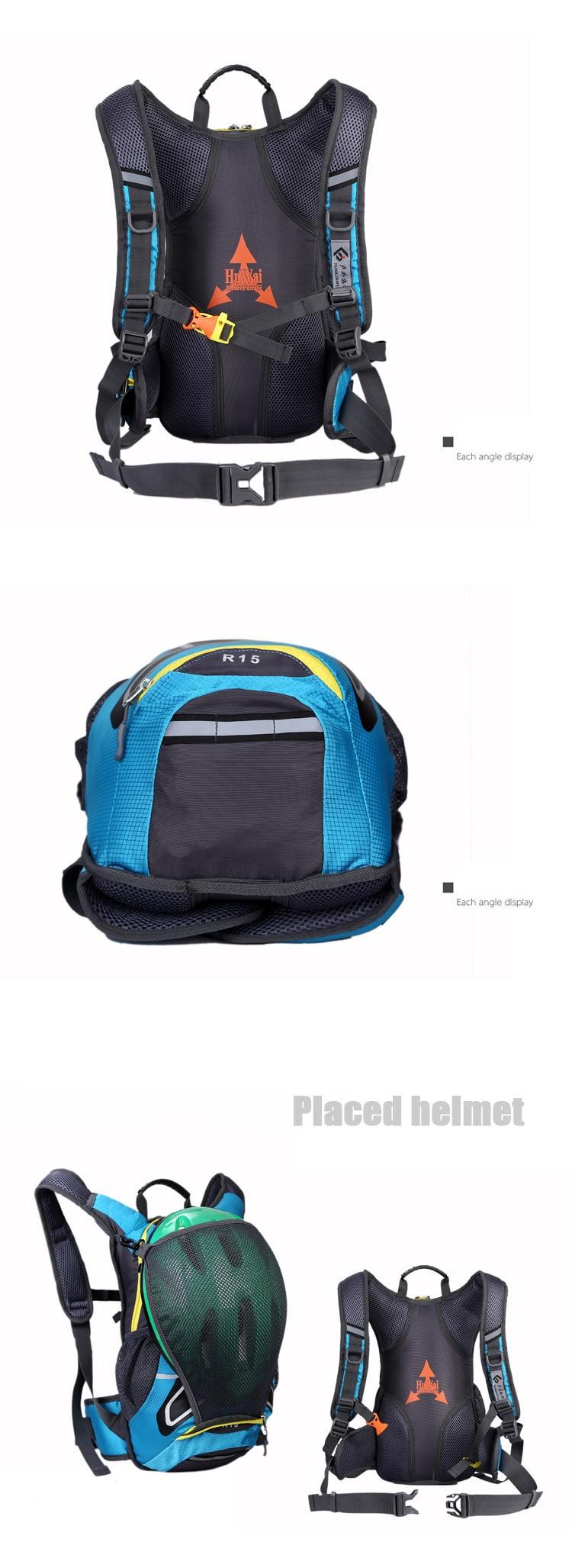 Bolsa impermeável para capacete de motocicleta, sacola