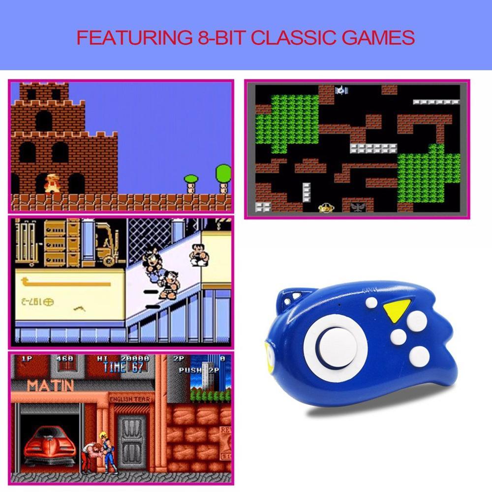 Onleny 8 비트 미니 비디오 게임 콘솔 플레이어 89 클래식 게임 지원 tv 출력 플러그 앤 플레이 게임 플레이어 최고의 선물