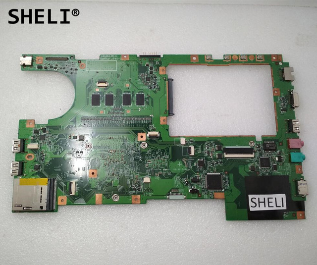 SHELI For LENOVO S12 MOTHERBOARD with N270 CPU 48.4DY03.0SC