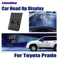 Head-Up-Display Speedometer Projector Driving-Screen Toyota Prado Windshield Safe OBD