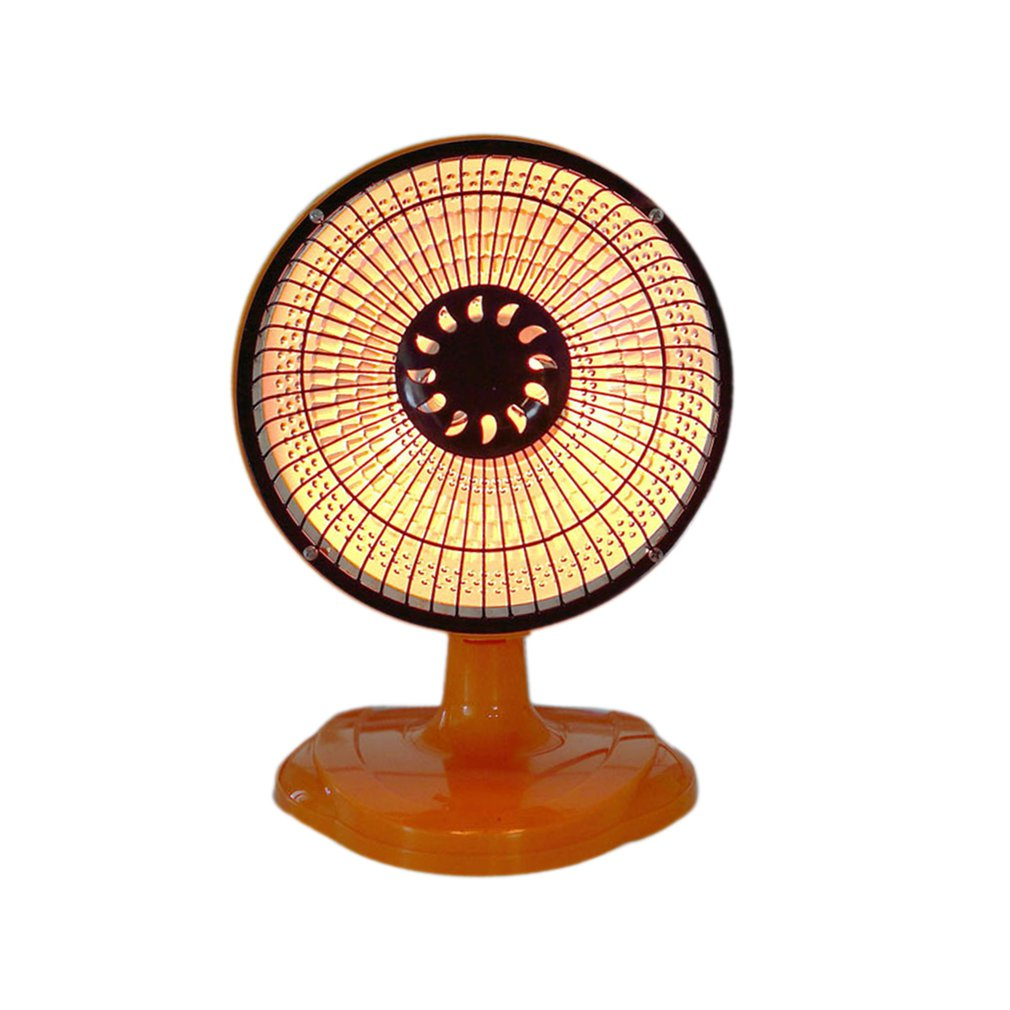 Electric Heater Shake Head Mini Home Heater In Winter 6 Inches Desktop Office Heater Small Sun